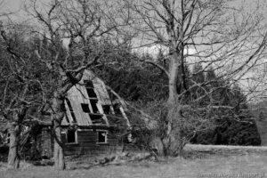 Opuszczony dom - Jaworek Górny , Masyw Śnieżnika
