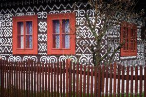 Čičmany - malowana wioska, Słowacja
