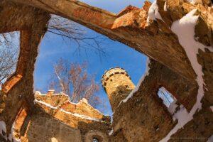 Zamek Księcia Henryka - grudzień 2010