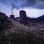 Beronowe podpory - Kowary, teren po dawnej kopalni uranu