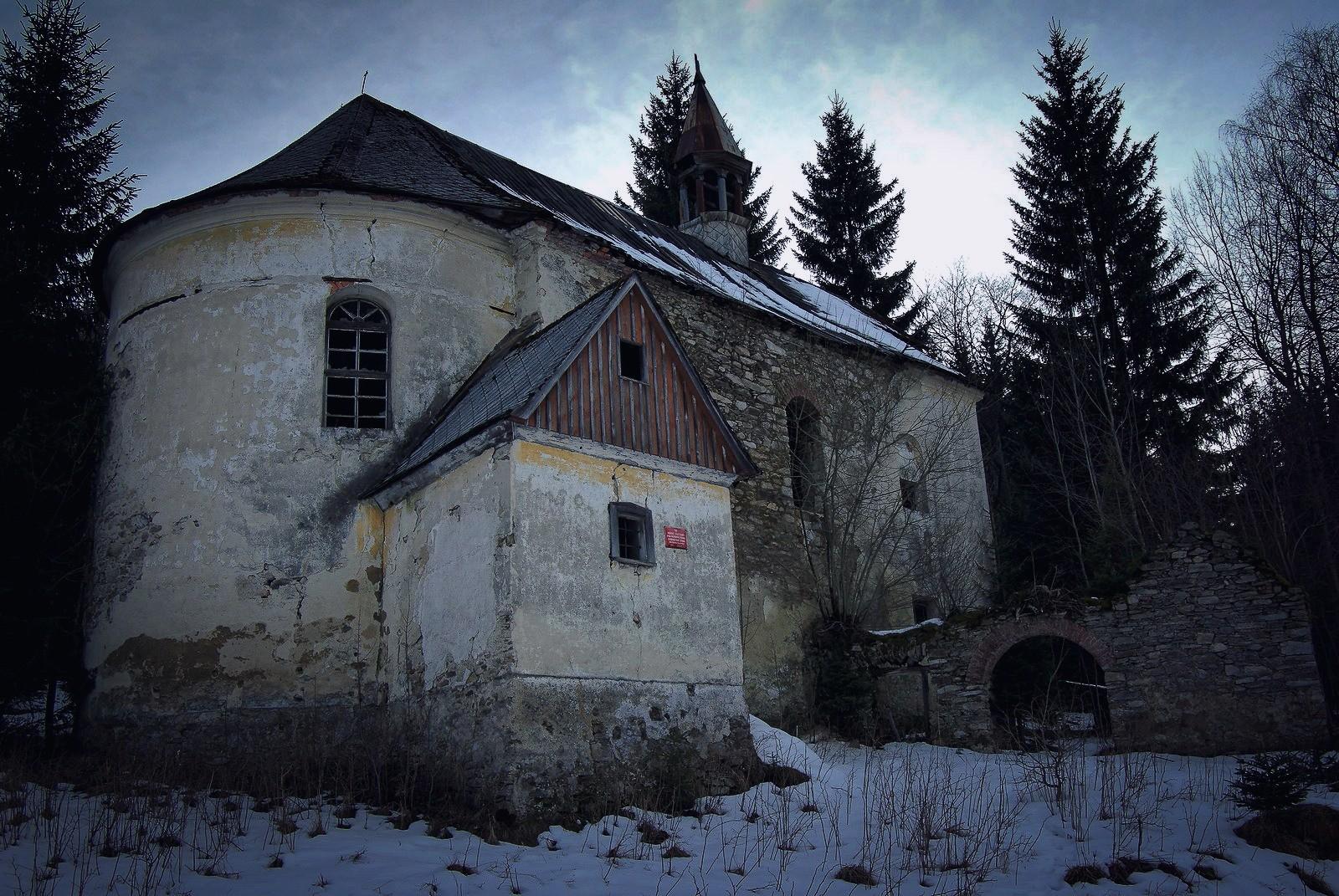 Kościół św.Jana Nepomucena wJanowej Górze (Jahannesberg)